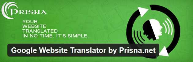 Google Website Translator WordPress translation plugin