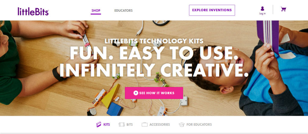 littlebits wordpress and the internet of things