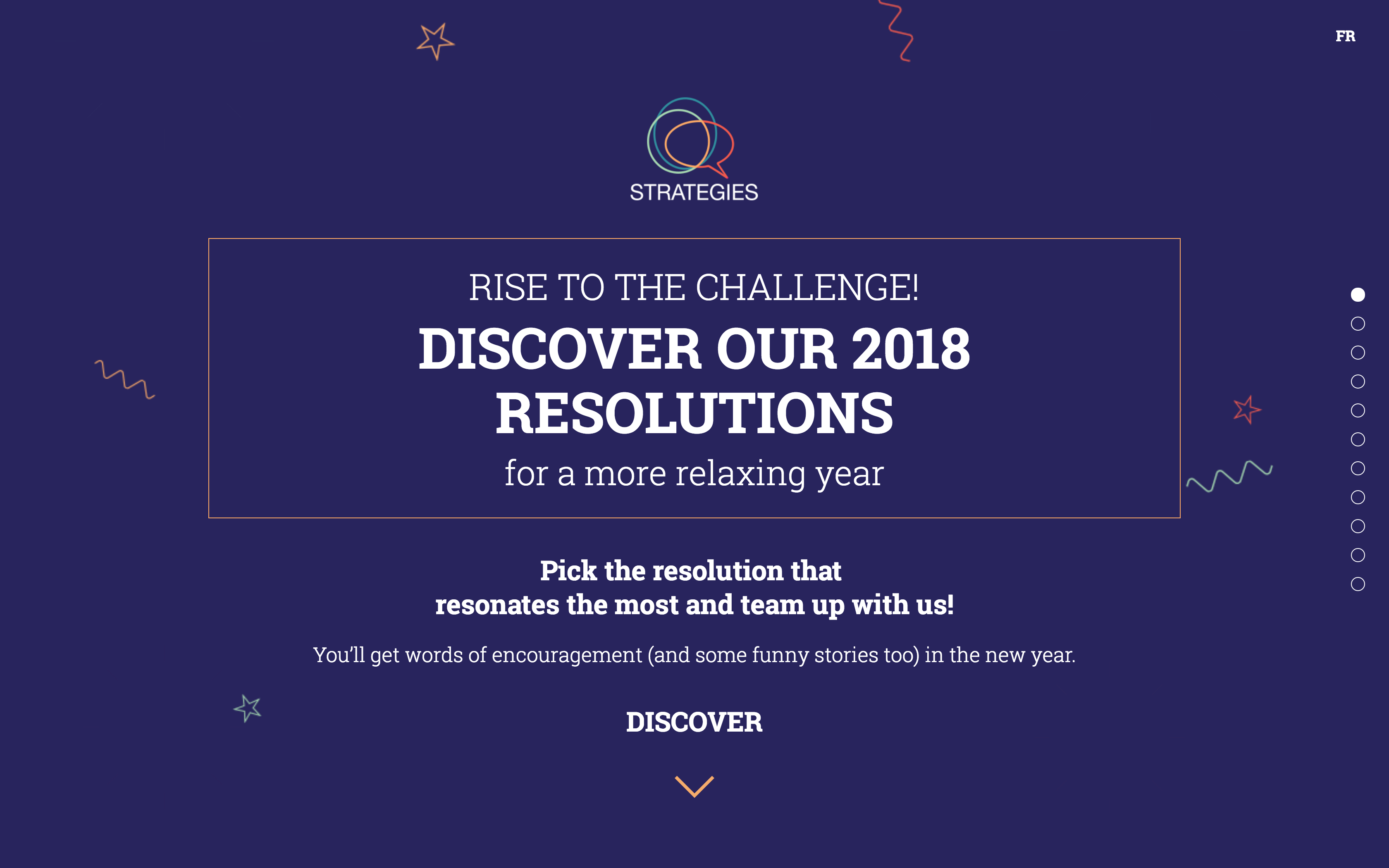 The Rise to the 2018 Resolutions Challenge website.