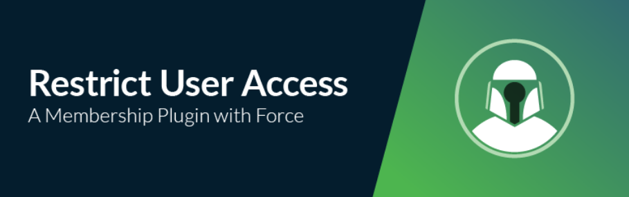 The Restrict User Access plugin.