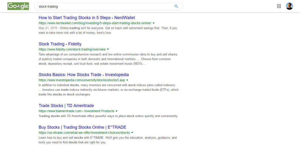 study top pages to understand search intent